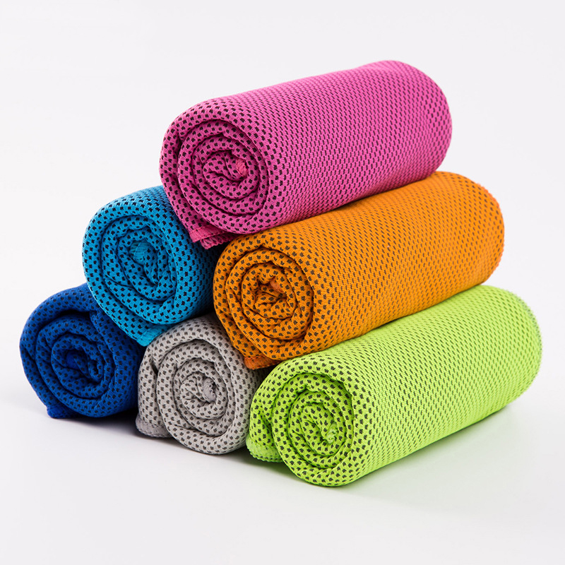 30x100cm sports cooling towel